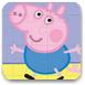 可爱的小粉猪拼图