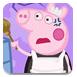 粉红小猪清理房间