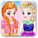 艾爾莎和安娜的公主裝