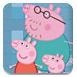 粉红小猪清理浴缸