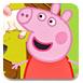 粉红小猪在农场