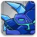 组装蓝色暴龙机器人