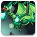 组装绿色暴龙机器人