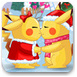 皮卡丘圣诞节偷偷接吻