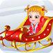 可愛寶貝的圣誕夢想