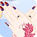 索菲婭美麗的指甲