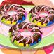 做彩虹甜甜圈