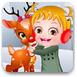 可愛寶貝的小馴鹿