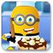 小黄人做香蕉蛋糕