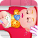 可愛寶貝給嬰兒打疫苗