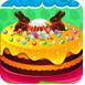 婴儿安娜复活节蛋糕