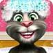 汤姆猫洗澡