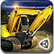 3D重型挖掘機???><span class=