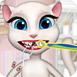 汤姆猫和安杰拉看牙医