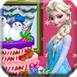 埃尔莎准备冬天的蛋糕