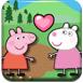 粉红小猪亲嘴